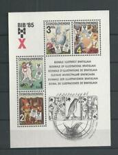 1985 MNH Tschechoslowakei Mi block 66