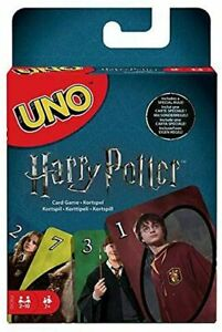 Mattel Games FNC42 Uno Harry Potter Family Card Game - Multi-Colour