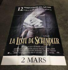 THE SCHINDLER'S LIST 4x6 ft Bus Shelter Vintage Movie Poster Original 1994