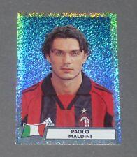 D PAOLO MALDINI AC MILAN MILANO ITALIA CALCIO PANINI SUPER FOOTBALL 99 1998-1999