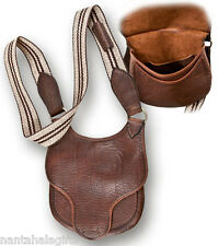Longhunter's Leather Shooter Possibles Bag Pouch For Black Powder Supplies