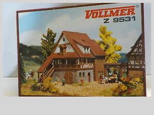 Z Scale Vintage Kibri Farm Cottage Kit #9531