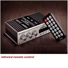 12V Car Mp3 Hi-Fi Stereo Audio Amplifier with Usb Port Dvd Fm+ Remote Jl