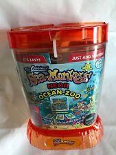 Amazing Live Sea Monkeys Ocean Zoo Marine Aquarium NEON Orange 23232