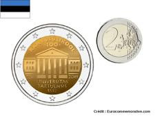 2 Euros Commémorative Estonie 2019 Université Tartu UNC