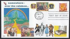 WIZARD OF OZ   OVER RAINBOW  YELLOW BRICK ROAD  KANSAS     FDC- DWc  CACHET