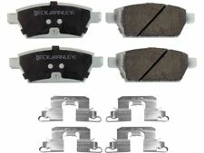 For 2006-2012 Ford Fusion Disc Brake Pad and Hardware Kit Rear 81353FD 2007 2008