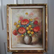 """OOC Vase of Flowers Signed by Helman 20"""" by 24"""""""