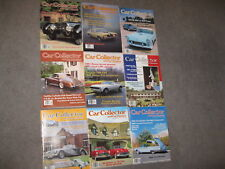 CAR COLLECTOR & CAR CLASSICS MAGAZINE BACK ISSUES 9 TOTAL SOLD AS LOT