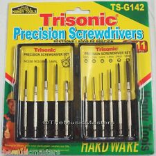 11 Piece Precision Mini Screwdriver Set Hand Tool Eyeglasses Watch Repair Kit