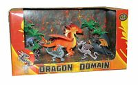 New Perfect For Dragon Fans 8-Piece HGL Dragons Domain Box Set Styles May Vary
