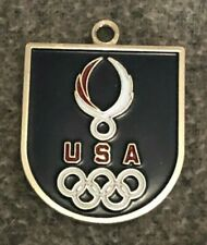 VINTAGE 1984 Aminco USA Olympics Key Chain 36 USC 220506
