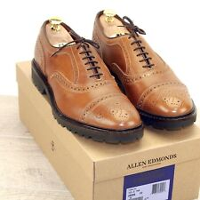 * NIB * $345 Allen Edmonds TUPELO 10.5 D Tan * new Bags (add $15 Trees)