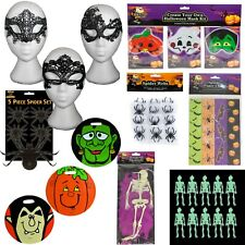 Halloween - Decorations, Trick or Treat Bags, Dressing Up - Choose Item