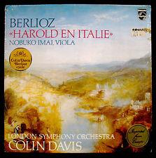 BERLIOZ-Harold En Italie-NOBUKO IMAI-Viola-Fully Sealed Import Album-PHILIPS