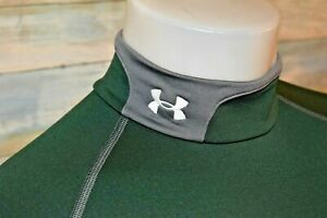 UNDER ARMOUR COLD GEAR Small Men's L/S FITTED Poly Spandex Mock Neck Pullover