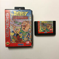 Asterix and the Great Rescue (Sega Genesis, 1994) No Manual Tested Fast Ship