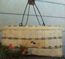 Basket Weaving Pattern Chickadee Carrier by Maurine Joy