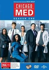 CHICAGO MED (COMPLETE SEASON 1 - DVD SET SEALED + FREE POST)