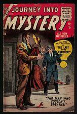 MARVEL ATLAS Comics 4.5 VG Journey into mystery 30 1956 Lady who vanished silver