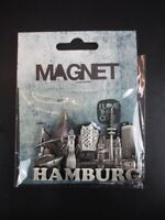 Hamburg Hafen Elbphilharmonie Michel 3D Metall Fridge Magnet Souvenir Germany