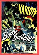 A3 - Body Snatcher Boris Karloff 1945 Movie Cinema wall Home Posters Art #10
