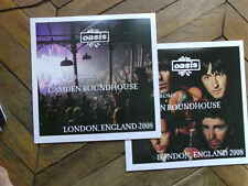 OASIS Live Camdem Roundhouse 2008 2LP