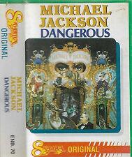Michael Jackson  Dangerous CASSETTE ALBUM Import Saudi Arabia Sahara Original