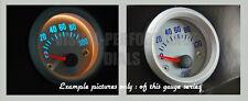 "Oil temp universal gauge interior dash dial face 52mm 2"""