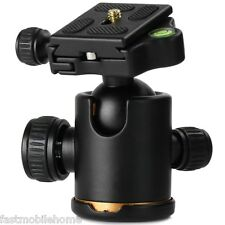 Tripod Monopod Metal Ball Head with Arca-Swiss Type PU60 Quick Release Plate New