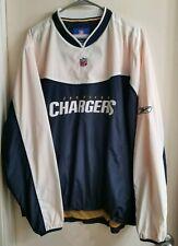 San Diego LA Chargers NFL Jacket Windbreaker Team Apparel Reebok Mens size Large