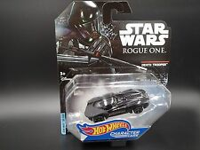HOT WHEELS Star Wars Rogue One Character Cars Death Trooper CASE E COLLECTIBLE