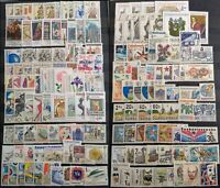 Worldwide Stamp Lots: Czechoslovakia MNH - 200 Different Stamps in Full Sets