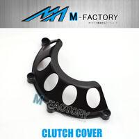 Black Billet Half Dry Clutch Cover Fit Monster 620 900 1000 1100 CC35