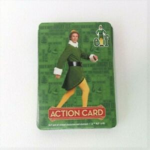 Elf Card Scramble Board Game Complete Set of 32 Action Cards Replacement Parts