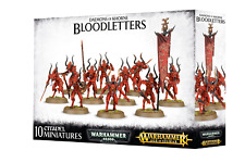 CHAOS DAEMONS Bloodletters of Khorne Warhammer Sigmar NIB NEW 40K
