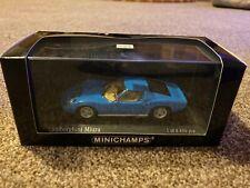 MINICHAMPS LAMBORGHINI MIURA 1966 BLUE 1/43 433 103007 - In Box