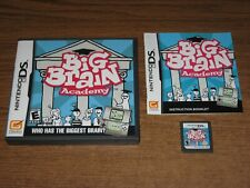 Big Brain Academy (Nintendo DS, 2006) Complete