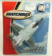 2004 Matchbox Sky Busters MBAF Stealth Fighter Real Die Cast Metal