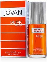 Jovan Musk Cologne Spray for Men 3 oz (Pack of 3)