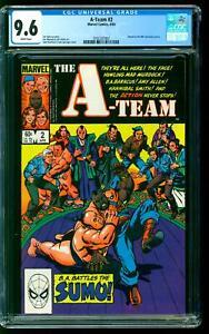 A-Team 2 CGC 9.6 NM+ BA Baracus Hannibal Smith Faceman Murdock John Romita cover