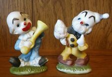 Vintage Porcelain Circus Clowns made in China