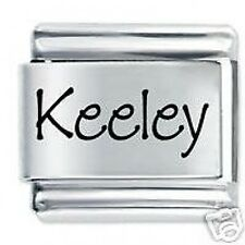 KEELEY Nome - Daisy Charm da JSC Fits Classic Size Italian Braccialetto Ciondoli