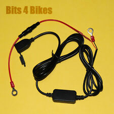 USB 12V Waterproof Single Socket Power Charger Cable Mobile Phone Intercom