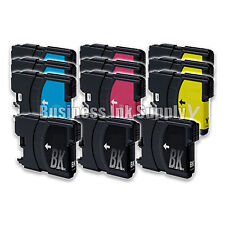 12 PACK LC61 LC-61 Generic Ink Cartridge for brother DCP-145C MFC-250C MFC-255CW