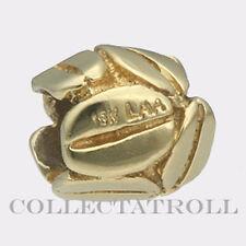 Authentic TrollBead 18kt Gold Mocha TrollBeads *Retired*   21154 *LAST ONE*