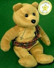 CELEBRITY BEAR Star #05 MEL GIBSON Braveheart TEDDY Plush Bean Bag Toy