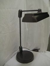 BEAUTIFUL SWIVELIER INDUSTRIAL MiD CENTURY FLOATING ARM DRAFTING LAMP. EUC