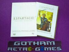 ESPARTACO / Kirk Douglas / Ediciòn Especial  / 2 Discos / Pelicula En DVD