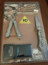 Utica Multi-Tool Linerlock Set Knife w/Sheath Realtree 91-Rt5016Cbcp